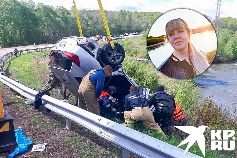 В результате ДТП погибли три человека.