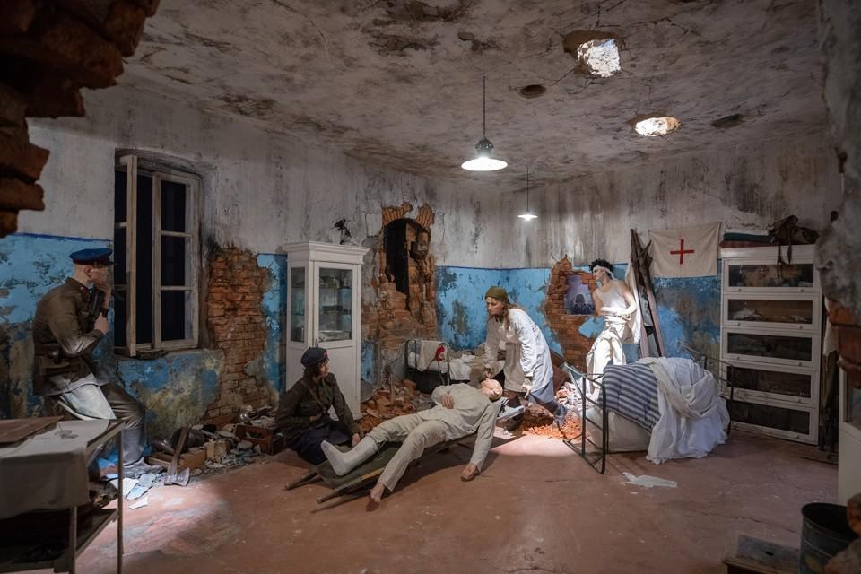 Экспозиция воссоздана с исторической достоверностью. Фото: пресс-служба Музея Победы
