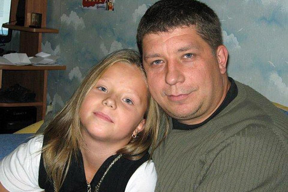Дмитрий Филин с дочкой