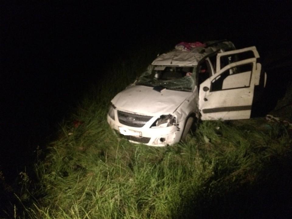 В машине находились две несовершеннолетние девочки, одна из них погибла Фото: ГУ МВД России по Самарской области