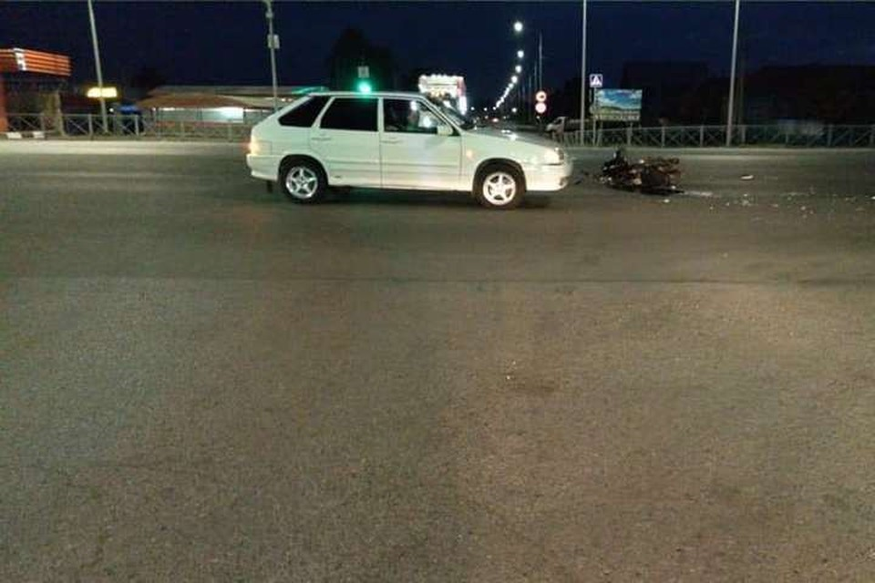 Авария на трассе Уфа-Оренбург // фото: ГИБДД РБ