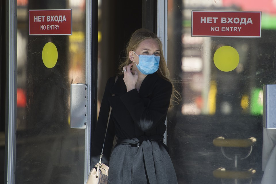 От чего маска точно защитит - так это от скандала и общественного порицания.