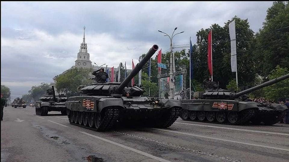На этот раз в Параде будут участвовать около 110 единиц техники.