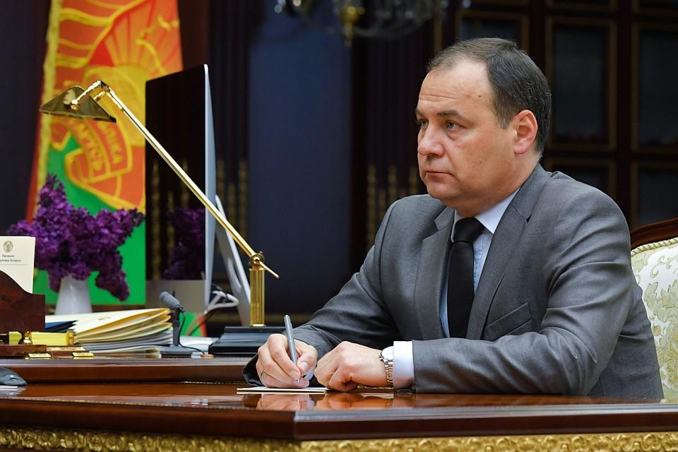 Кто он - новый премьер Белоруссии: выпускник МГИМО и многодетный отец