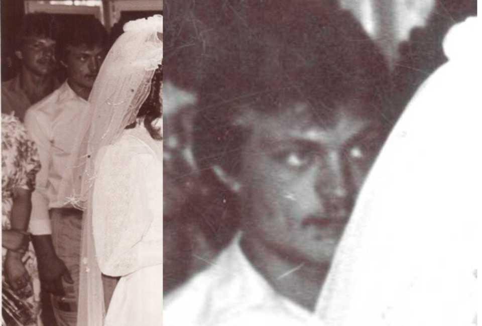 Вот эта нечеткая черно-белая фотография - единственное, что осталось у Екатерины от биологического отца