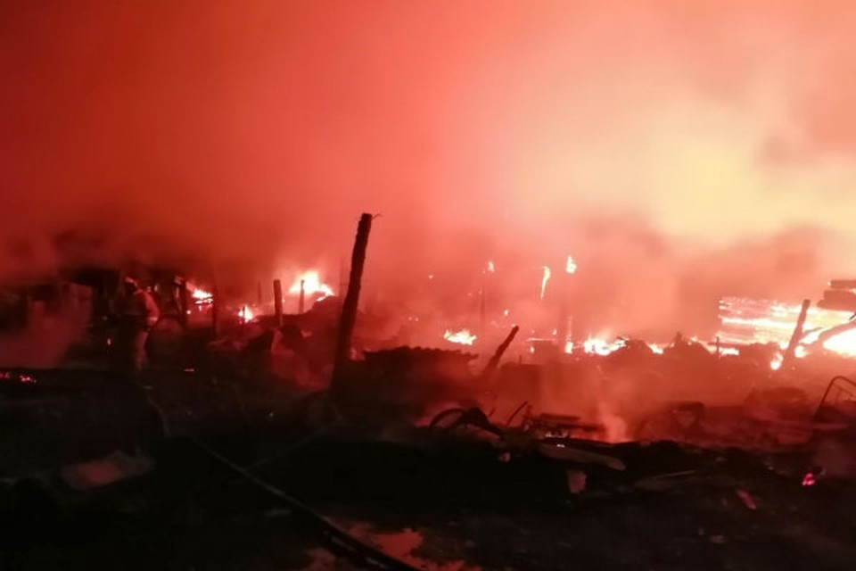 Страшный пожар в Иркутской области четверо детей и их отец сгорели заживо. Фото: ГУ МЧС России по Иркутской области