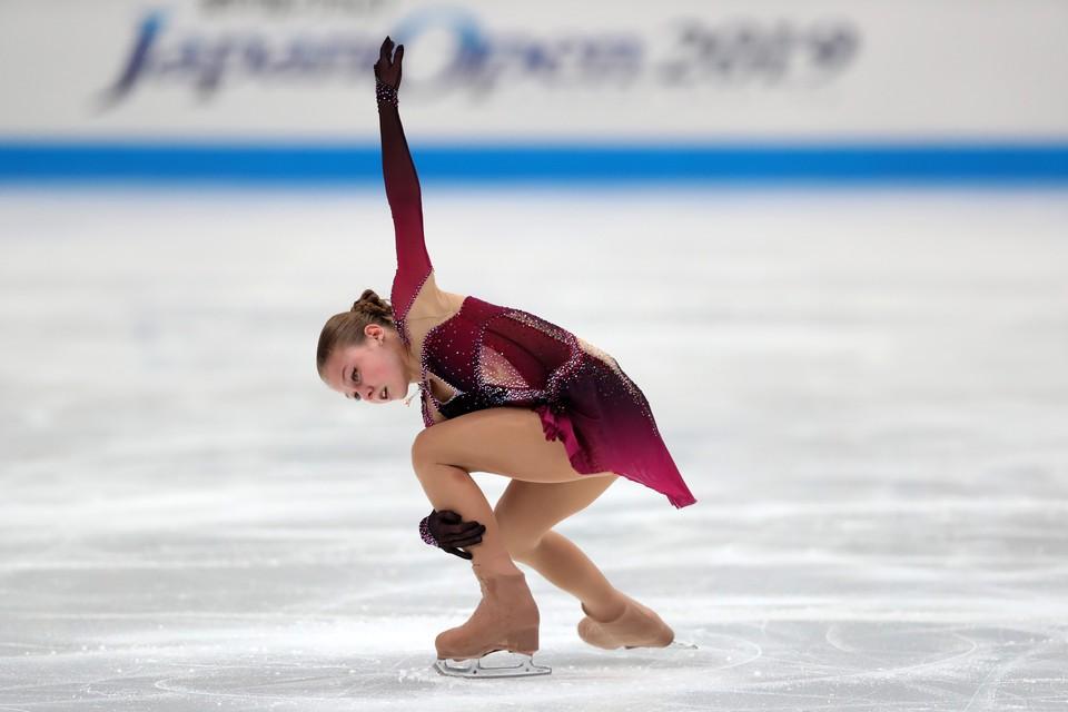 Александра Трусова готовится к стартам в новом сезоне.