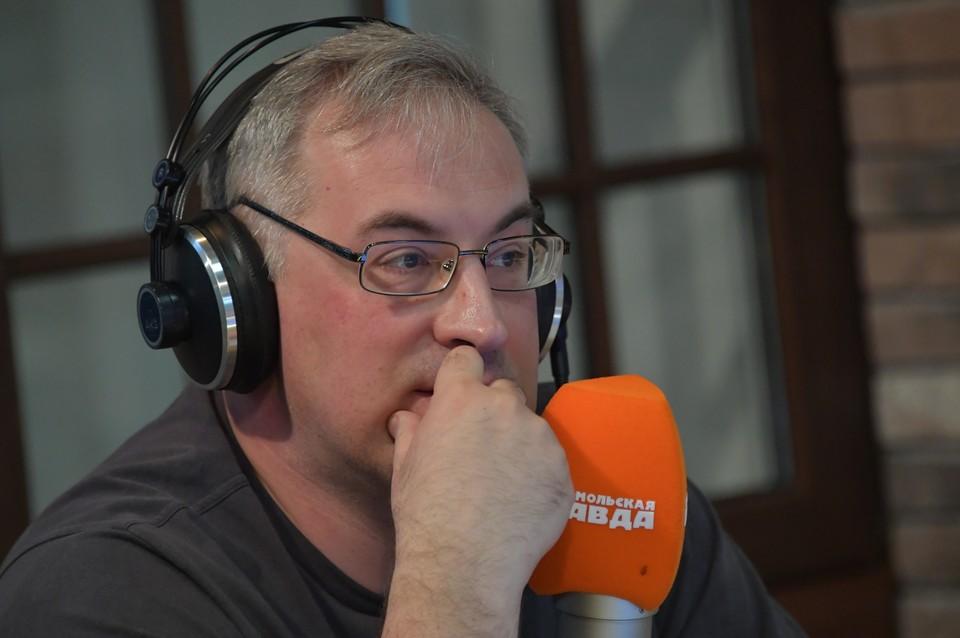 Теле- и радиоведущий Андрей Норкин.