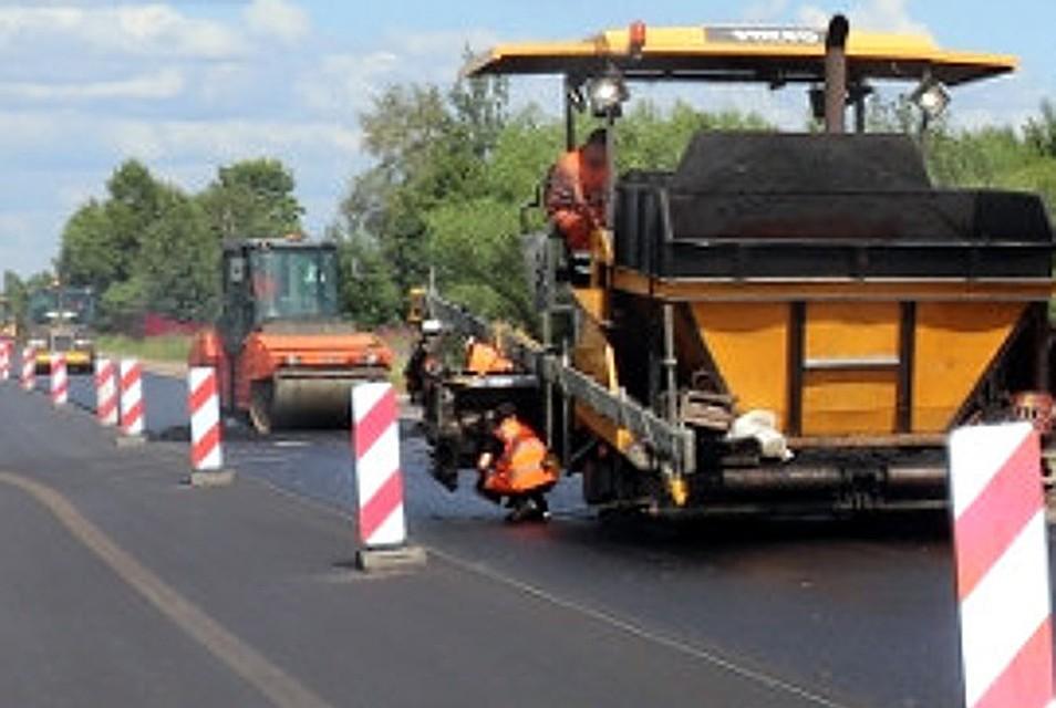 Продолжен ремонт самого короткого пути из Твери до Кимр. В порядок приведут еще 20 км дороги