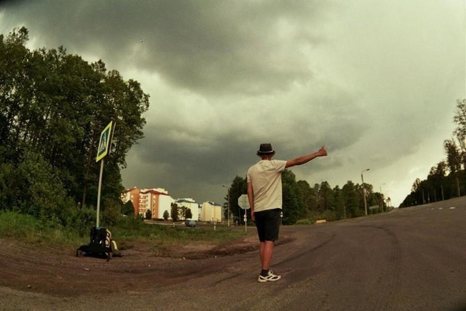 Петербуржец Дмитрий Стрен проехал девять городов за тридцать шесть дней. Фото: предоставлено героем публикации