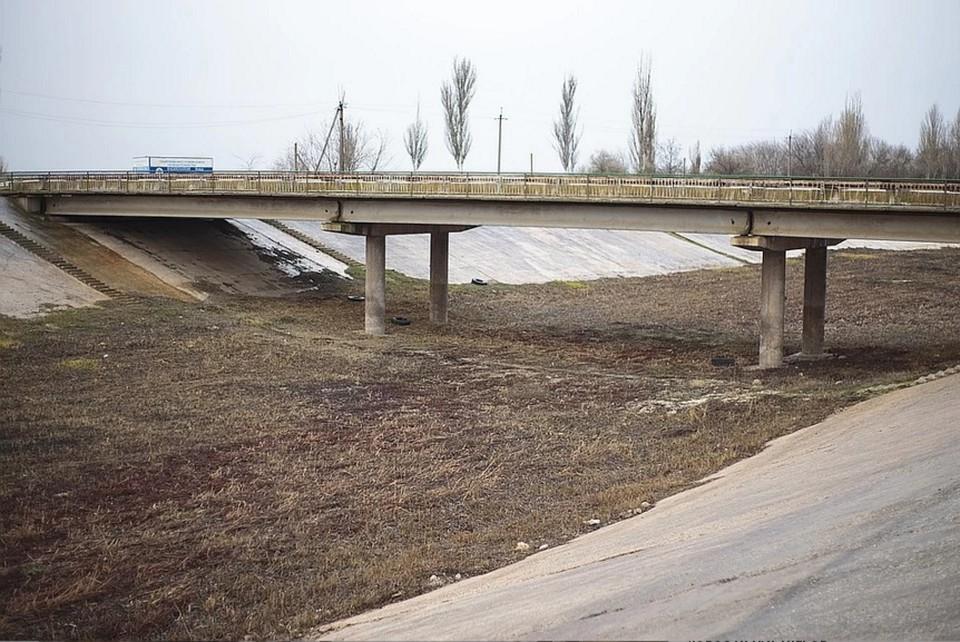 Северо-Крымский канал перекрыт несколько лет