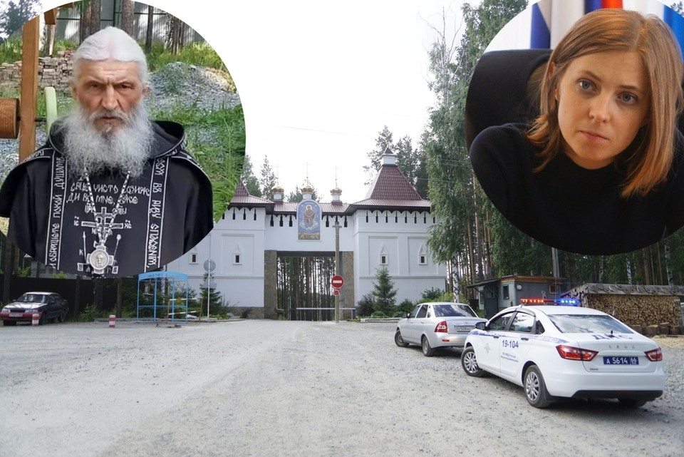 Наталья Поклонская неоднократно приезжала в Среднеуральский женский монастырь.