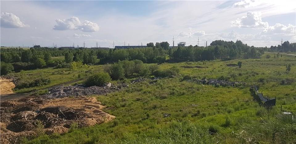 Под Красноярском планируют строить полигон промышленных отходов. Фото: Павел ГУДОВСКИЙ, фейсбук.