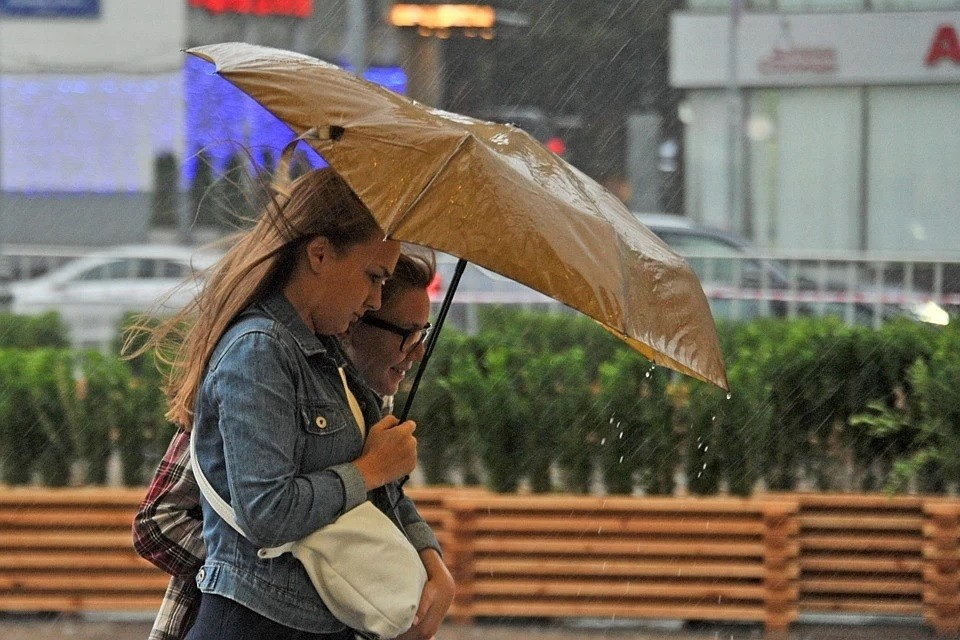 Аномальная жара в Москве сменится дождями