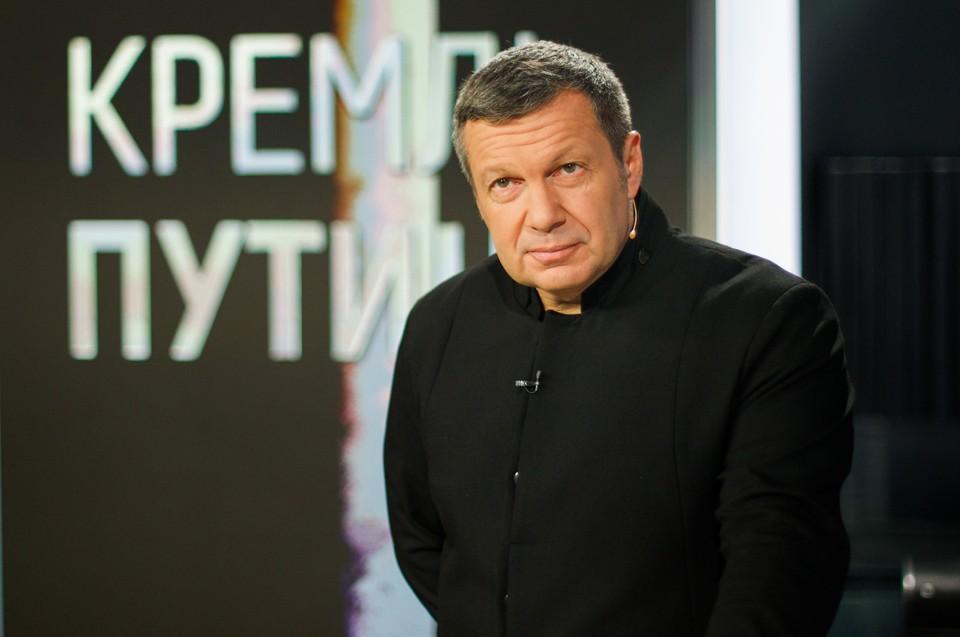 Телеведущий Владимир Соловьев.