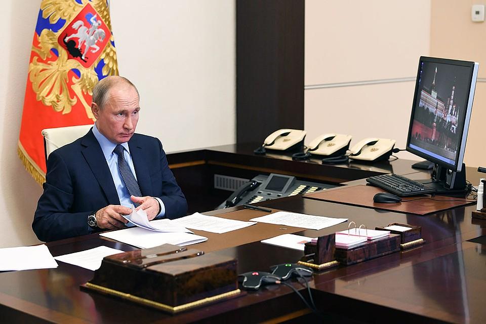 Путин рассказал, когда ждать вторую волну эпидемии