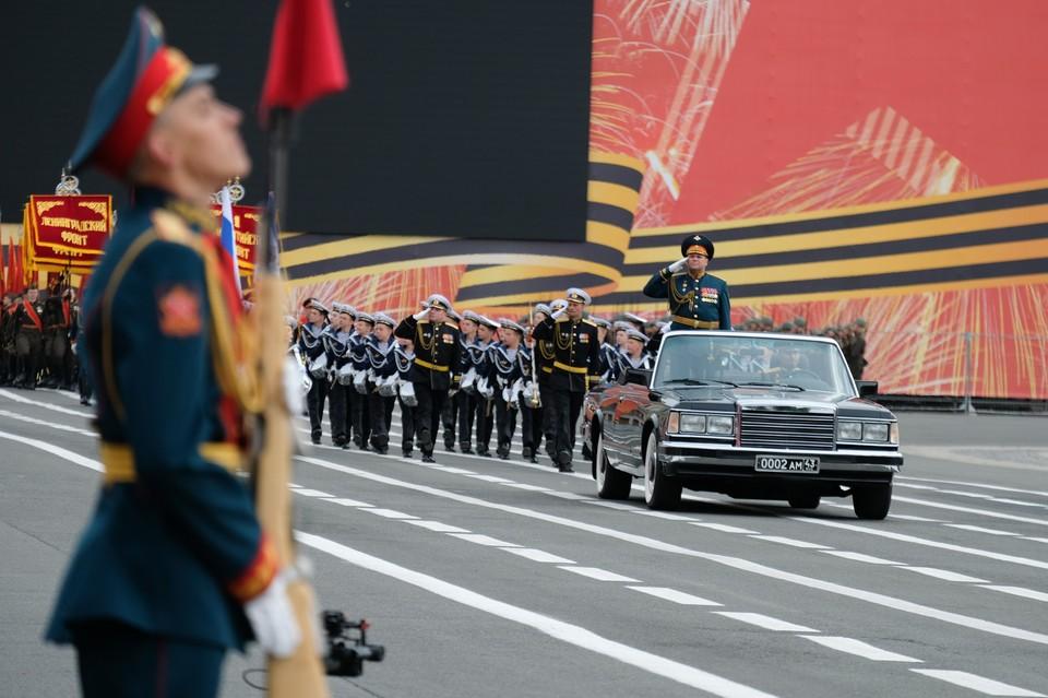 Генеральная репетиция Парада Победы 2020 прошла в Санкт-Петербурге.