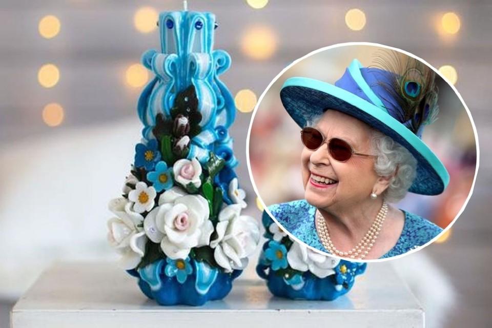 Больше трех лет королева Елизавета II заказывает свечи у новосибирской мастерицы. Фото: instagram.com/REUTERS