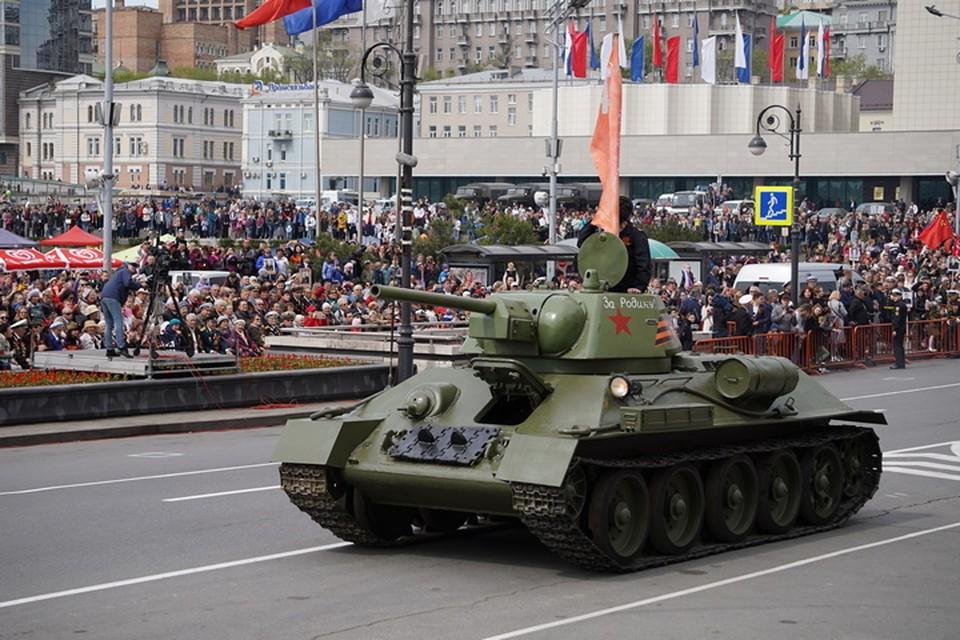 Парад Победы 24 июня 2020 во Владивостоке: какая техника проедет по главным улицам и как на нее посмотреть