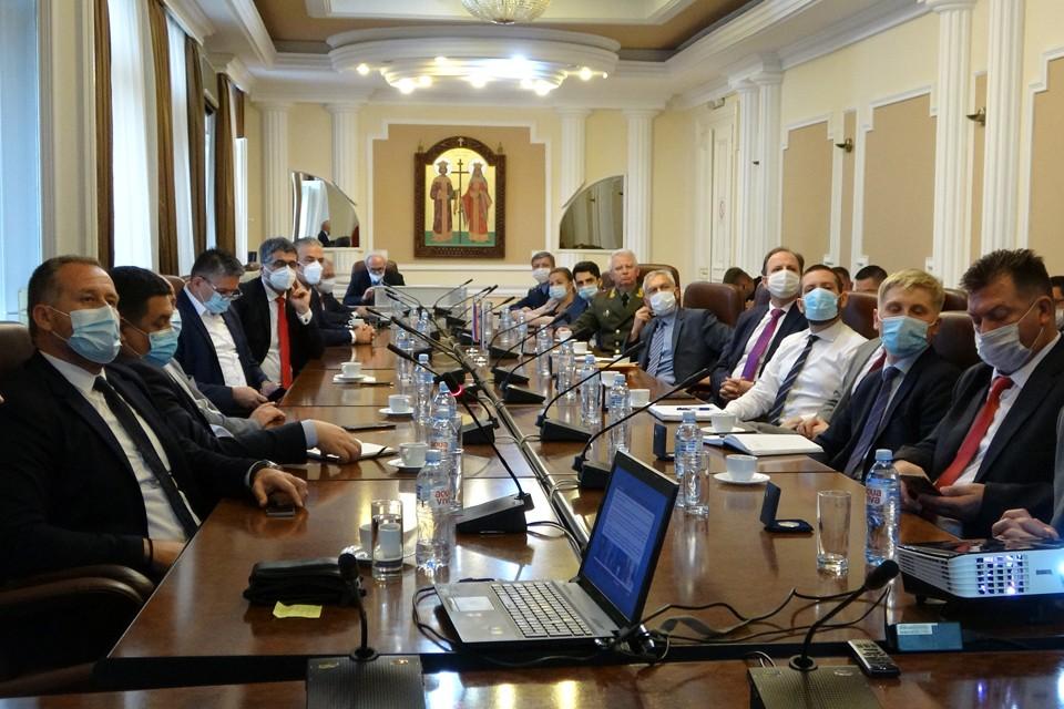 В город Ниш на юге Сербии приехала делегация из России