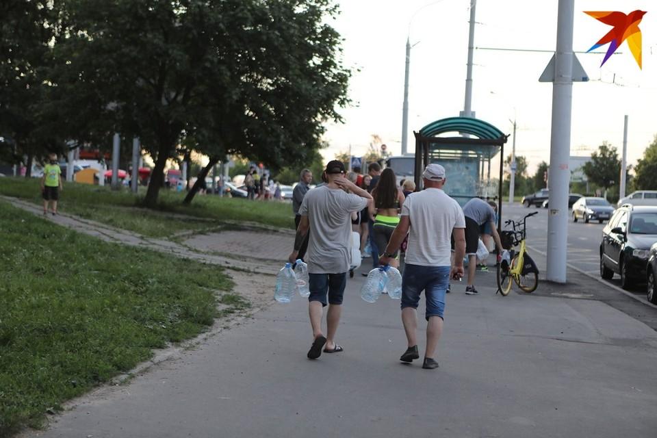 В нескольких районах Минска водопроводная вода стала непригодной для питья.