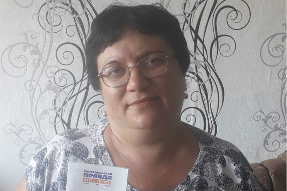 Наша победительница Елена Скалина из Черемховского района