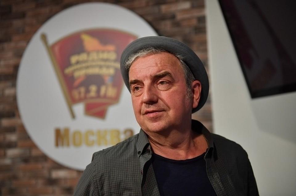 Владимир Шахрин в студии Радио «Комсомольская правда».