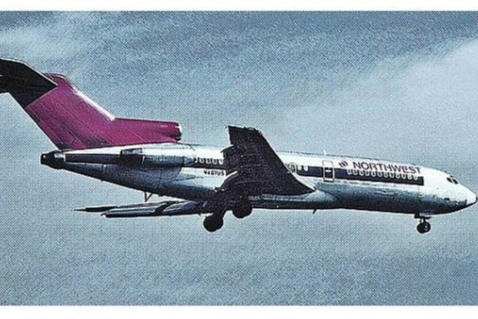 Тот самый Boeing 727-51 Northwest Orient Airlines, который захватил угонщик. Фото: FBI