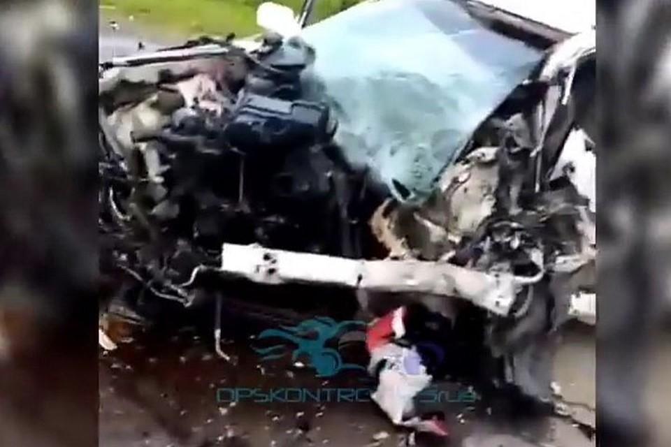 Авария в Октябрьском районе Приморья унесла жизнь женщины