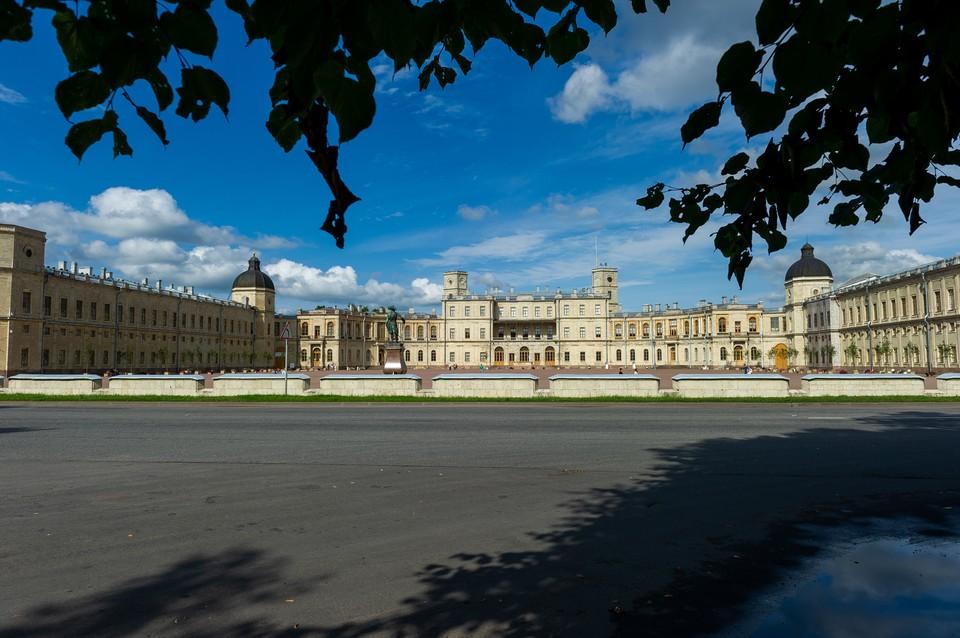 Гатчинский дворец открывается с 7 июля.
