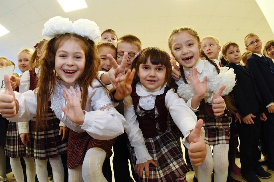 Московские ученики пойдут в школы 1 сентября