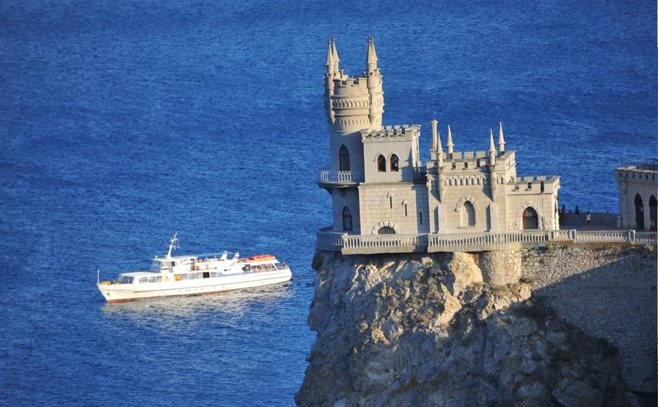 Ласточкино гнездо в Крыму. Фото: архив КП