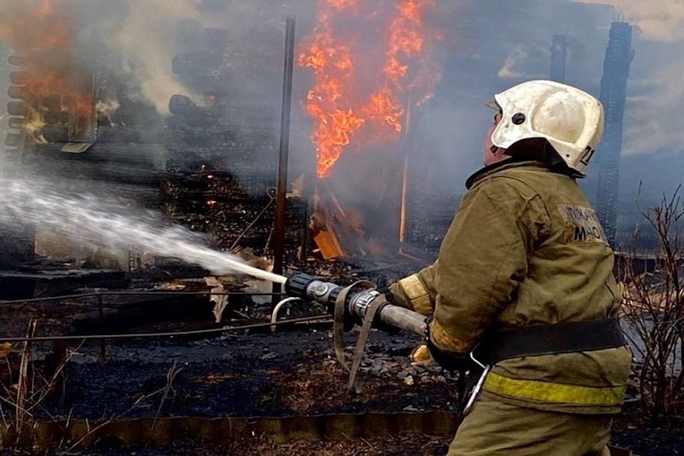 Огнеборцы Югры ликвидировали 54 пожара за минувшую неделю. Фото МЧС по ХМАО.