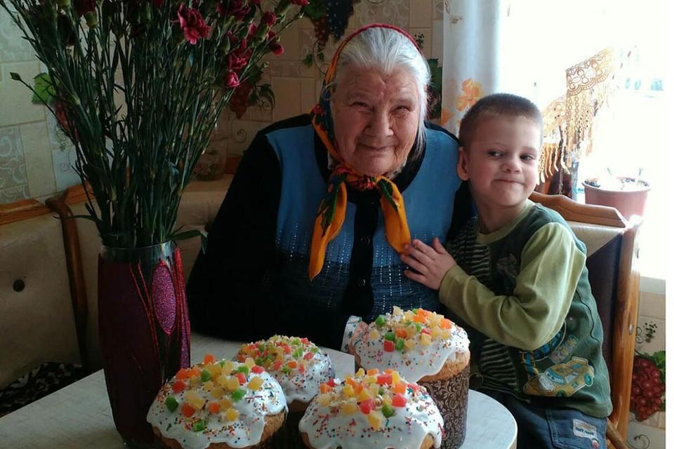 В больнице Мария Лифановна провела три недели. Фото из архива семьи