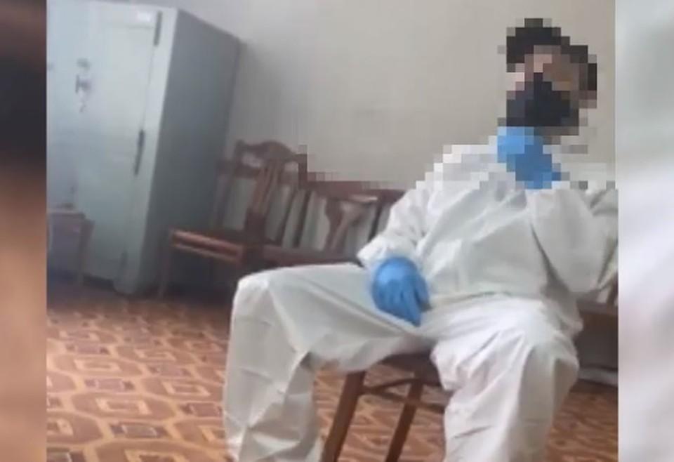 Задержанный признал свою вину (Фото: скрин с видео).