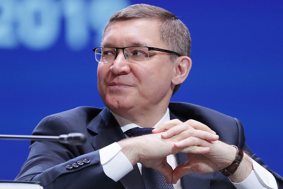 Глава Минстроя Владимир Якушев. Фото: Донат Сорокин/ТАСС