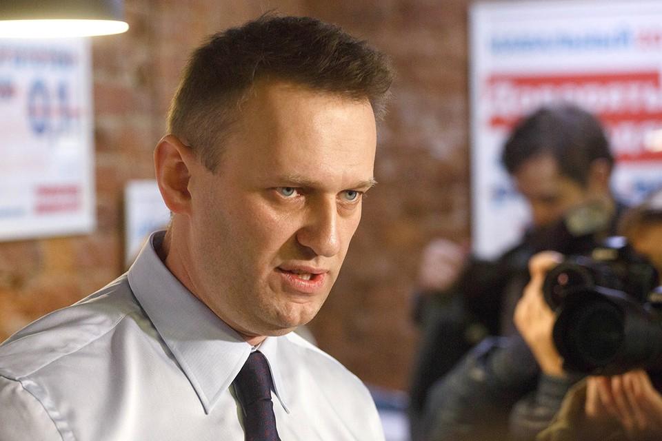 Основатель Фонда борьбы с коррупцией политик Алексей Навальный.