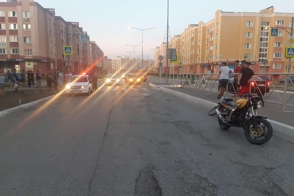 На месте происшествия работала полиция