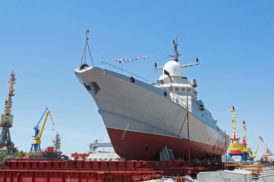 Скорость хода корабля - около 30 узлов, а дальность плавания - 2,5 тысячи миль. Фото: Сергей Аксенов