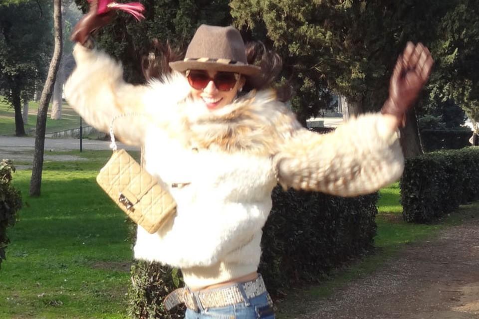 На старых снимках Зарема выглядит счастливой Фото: vk.com
