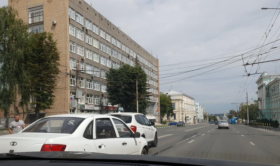 Авария произошла напротив здания обласной прокуратуры