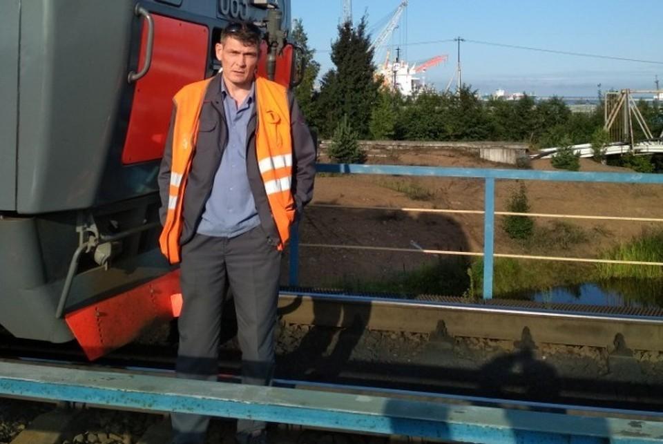 Вячеслав пострадал при крушении поездов