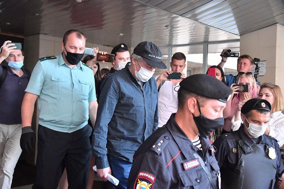 30 июля состоялось очередное заседание суда по делу Михаила Ефремова
