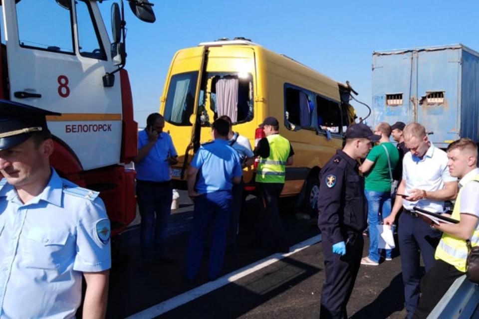 В ДТП погибли 9 человек. Фото: пресс-служба МВД РК