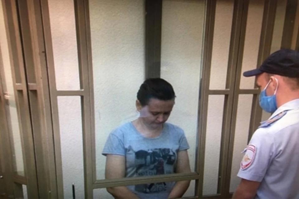 Женщина полностью признала свою вину. Фото:СУ СКР по Ростовской области.