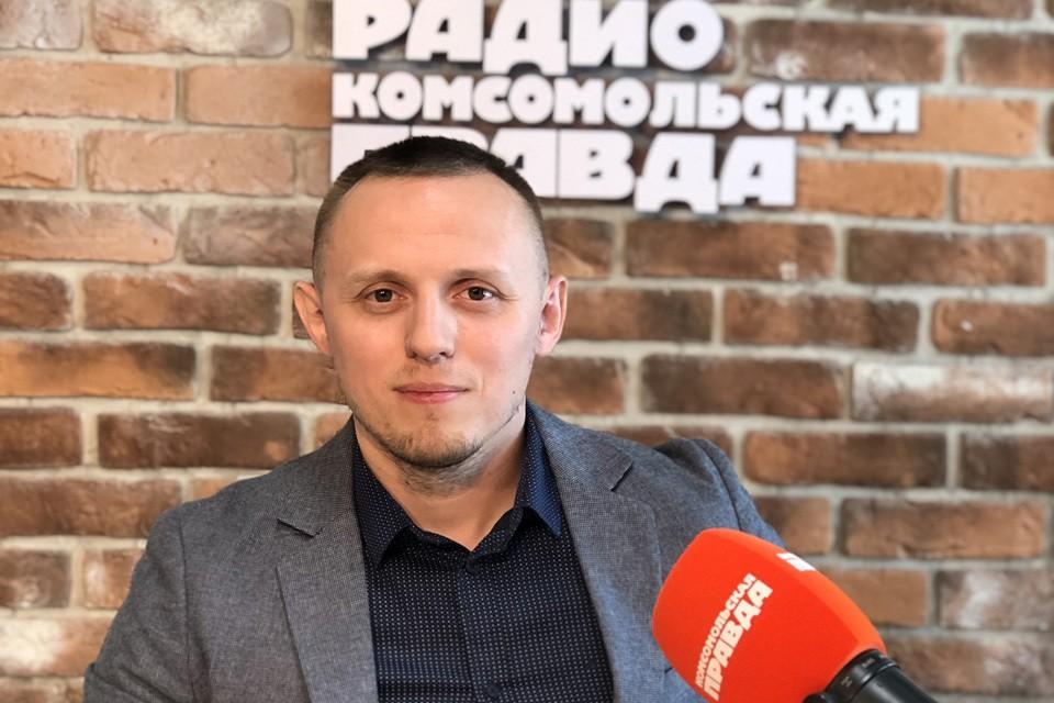 Руководитель сервиса найма рабочей силы компании «Рабочие руки» Олег Шилов.