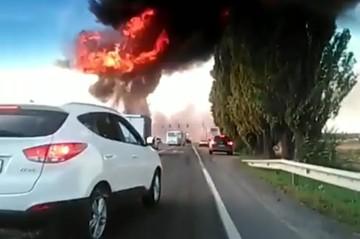 Забыл отсоединить шланг: взрыв на газовой заправке в Краснодарском крае произошел из-за водителя «Газели»