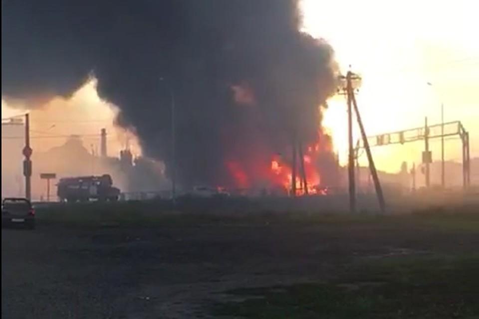 Взрыв в Динском районе