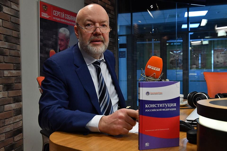 Глава Комитета Госдумы по законодательству Павел Крашенинников