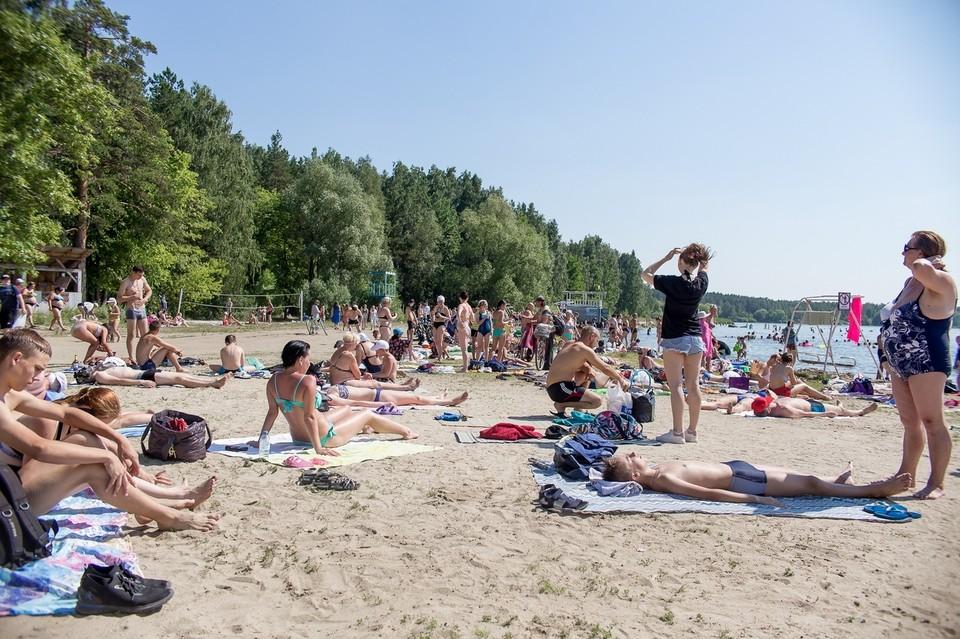 В Челябинск вернулась аномальная жара
